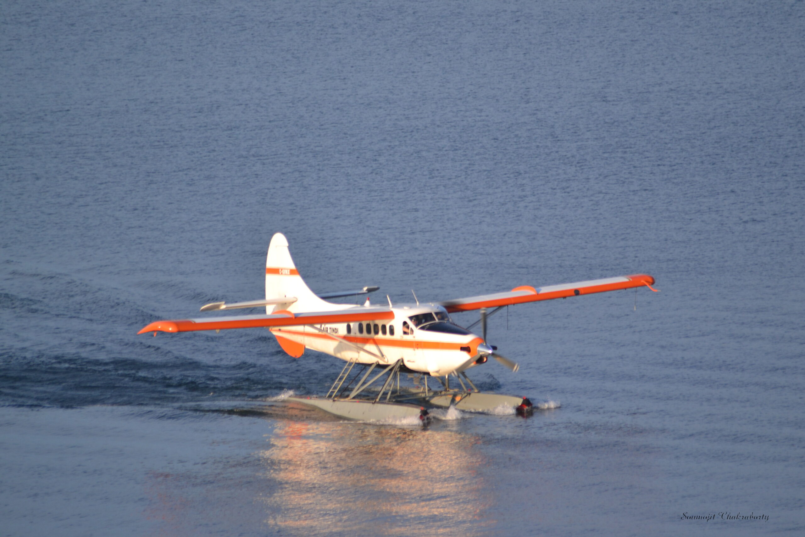 Float Plane on the Great Slave Lake, NWT